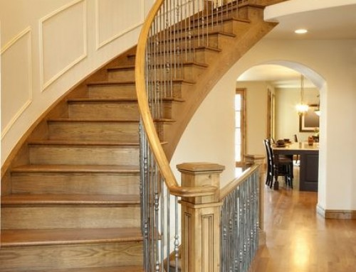 Custom stairs London carpenter 38
