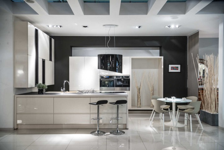 Modern kitchen london carpentry 12 tj bespoke joinery for Modern kitchen london
