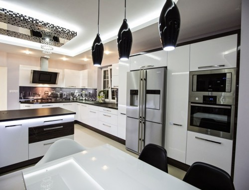 Modern kitchen London carpentry 13